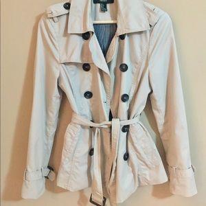 Short Trench Coat Jacket
